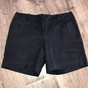 Talbots Navy Blue Twill Shorts Cute!!